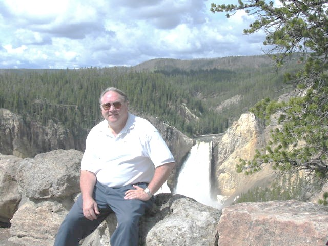 Ron, AC2C, at Yellowstone N.P.